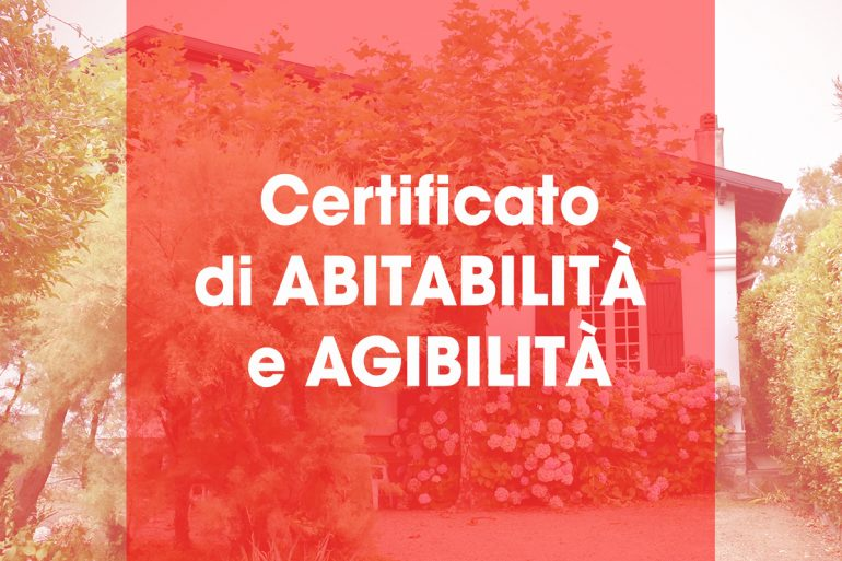 CERTIFICATO DI ABITABILITÀ E AGIBILITÀ - SicilProperty ...